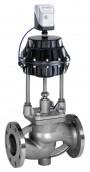Седельный клапан с мембранным приводом